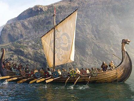Vikingos drakkar