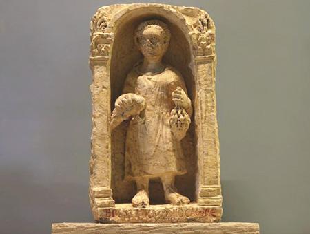 Gaziantep estatua romani bambino