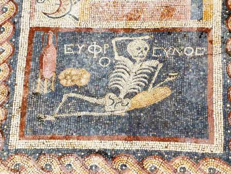 Mosaico esqueleto antioquia