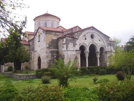 Museo de Santa Sofía en Trabzon
