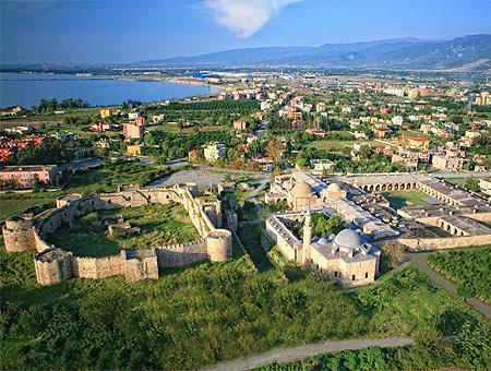Fortaleza de Payas a las afueras de İskenderun (Alejandreta), en Hatay