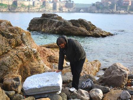 Bartin amasra restos romanos orilla