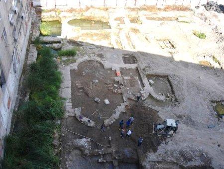 Estambul excavaciones mezquita seyh suleyman