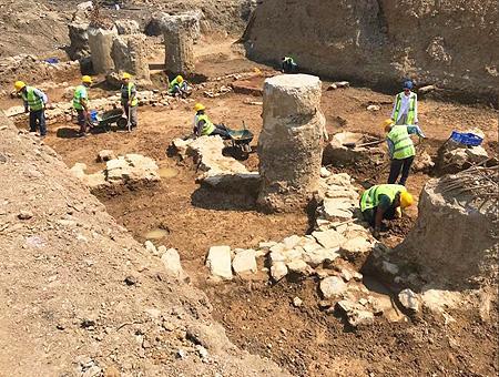 Estambul ruinas ciudad bizantina