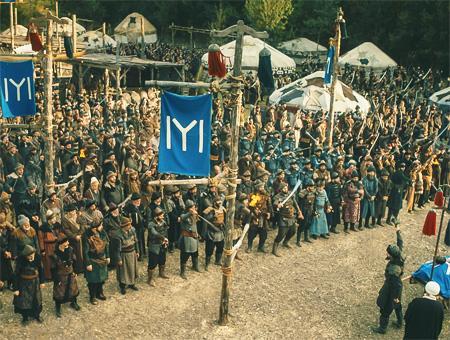 Fotograma de la serie turca ''Resurrección Ertuğrul''