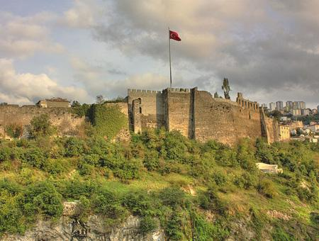 Murallas bizantinas de la antigua Trebisonda, la actual Trabzon