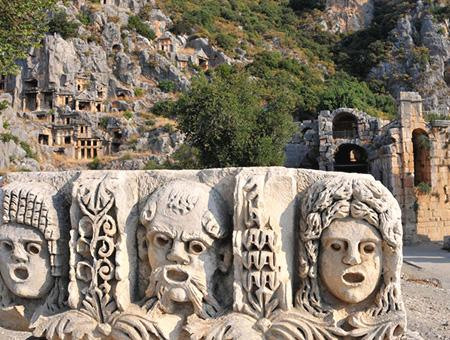 Antalya demre ruinas myra