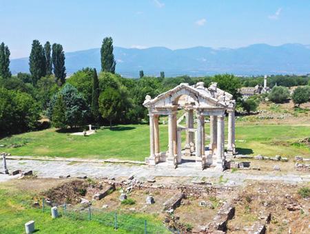 Aydin ruinas antigua afrodisias
