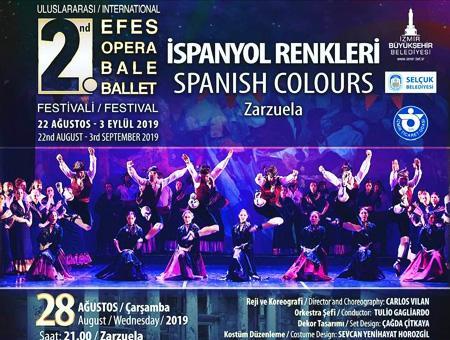 Izmir opera ballet ispanyol renkleri