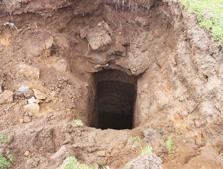 Kayseri tunel ciudad subterranea