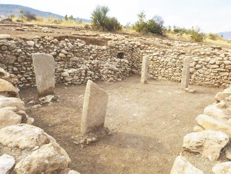 Mardin templo yacimiento boncuklu tarla