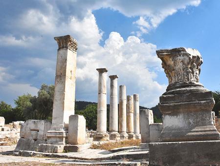 Mugla ruinas antigua estratonicea