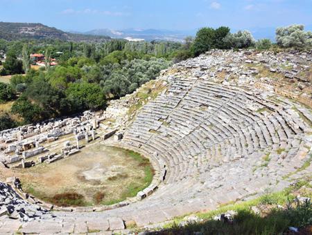 Mugla teatro romano stratonikeia