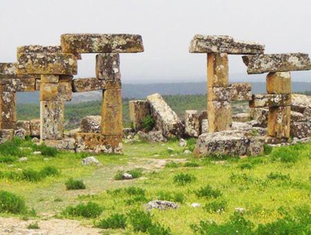 Usak ruinas blaundus
