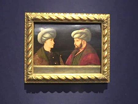 Arte retrato sultan mehmet
