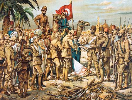 Historia otomanos derrota britanica kut