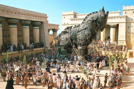 Troya caballo pelicula