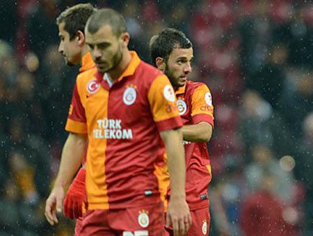 Galatasaray derrota