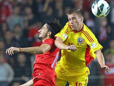 Turquia rumania futbol