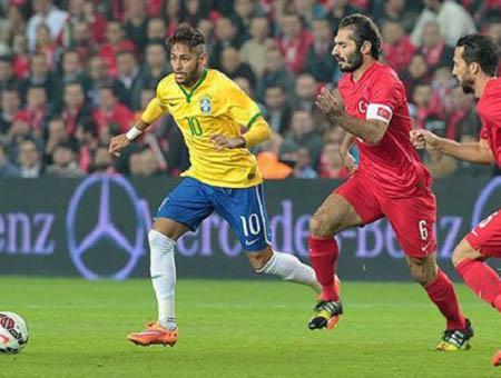 Turquia brasil futbol