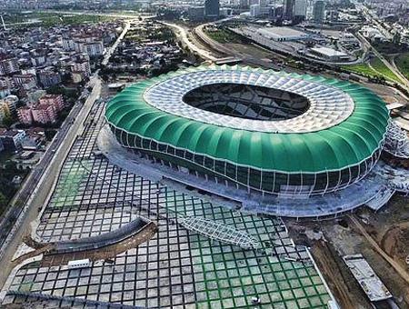 El Timsah Arena de Bursa, inaugurado en 2015