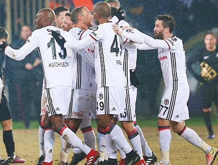El Beşiktaş se sobrepone al frío en Ankara