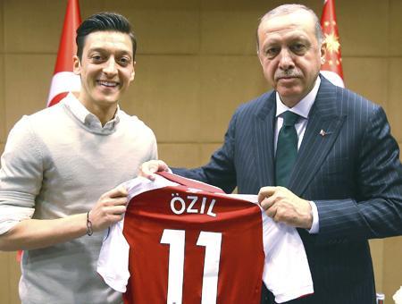 Mesut ozil erdogan