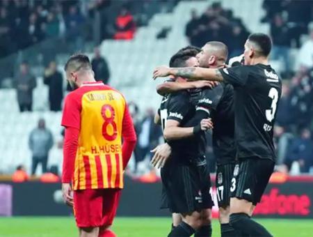 Besiktas kayserispor goleada gol