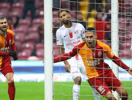 Galatasaray gol goleada liga turca
