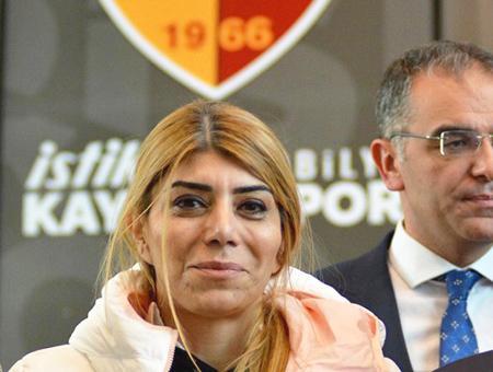 Kayserispor primera mujer presidenta gozbasi