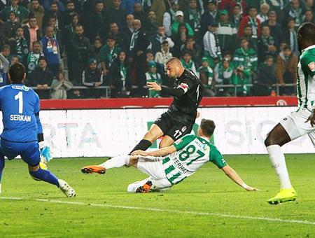 Konyaspor besiktas partido
