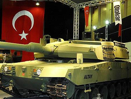 Altay tanque turco