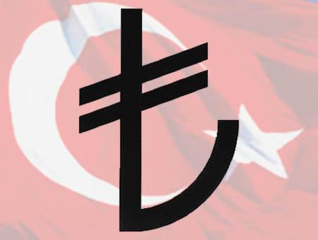 Lira turca simbolo