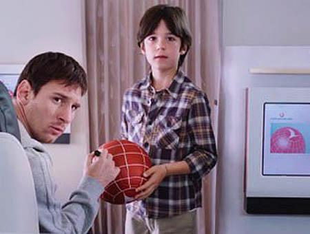 Messi turkish airlines