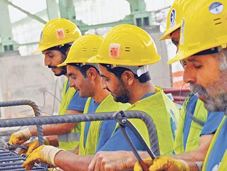 Obreros trabajadores