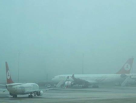 Aeropuerto niebla