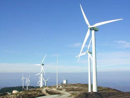 Energia eolica molinos