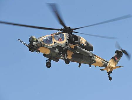 Helicoptero atak turquia