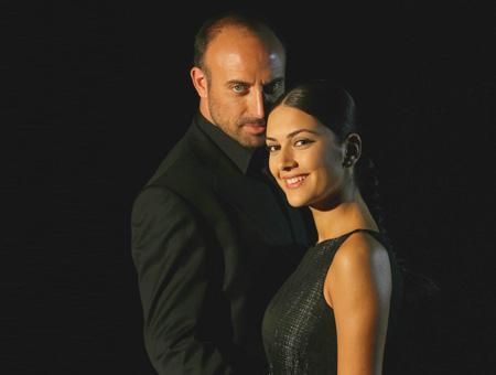 Onur y Sherezade, los dos protagonistas turcos de ''Las Mil y Una Noches''