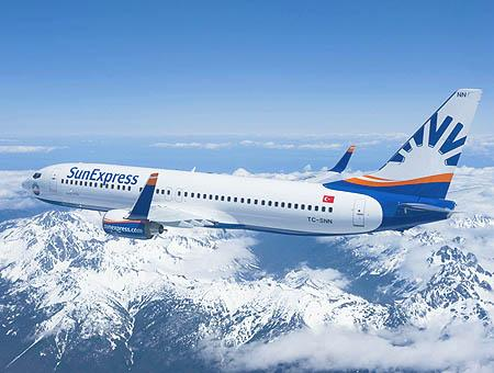 Sunexpress avion aerolinea