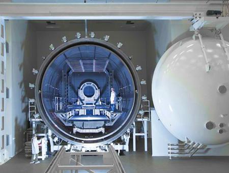 Centro fabricacion satelites