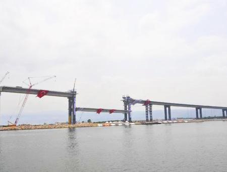 Obras viaducto autopista izmit