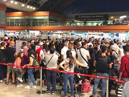 Aeropuerto sabiha gokcen colas