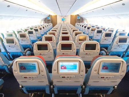 Avion vuelos cabina