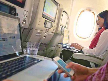 Avion vuelos dispositivos electronicos