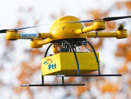 Drones correos turquia ptt