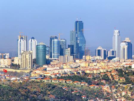 Estambul levent rascacielos construccion cc