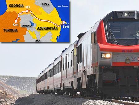 Ferrocarril btk baku tiflis kars