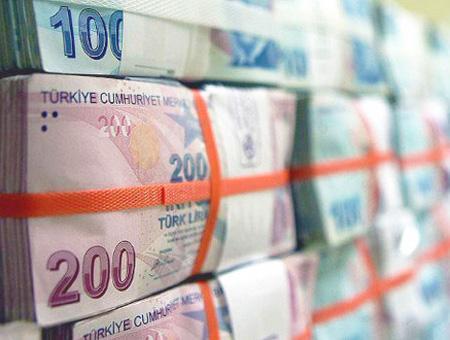 Lira turca dinero billetes
