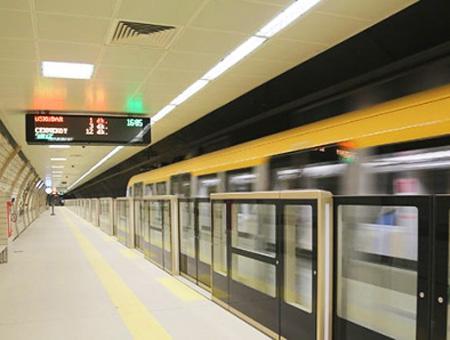 Metro automatizado sinconductor estambul